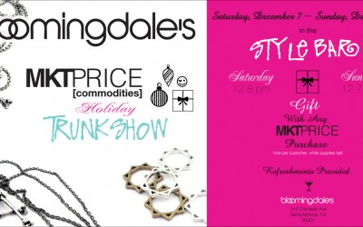 MKTPRICE Holiday Trunk Show evite/ flyer
