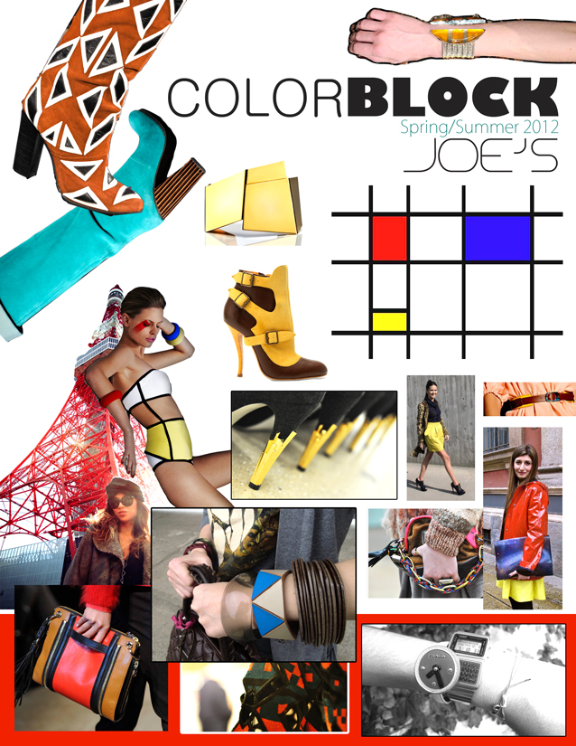 Trend report Spring summer 2011 Color Blocking